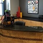 Reception desk Blackman Grove Dental dentist office